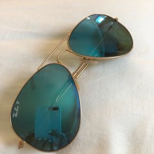 Polarized Raybans with case included